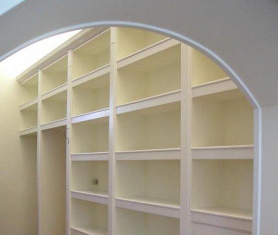 Realizzazione E Montaggio Librerie In Cartongesso Pareti Attrezzate